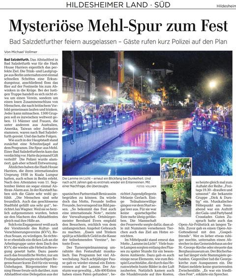Quelle: Hildesheimer Allgemeine Zeitung vom 12.06.2017