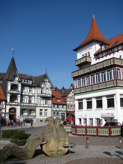 Gildehaus und Kronprinz