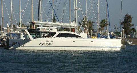 Cruising Catamaran Ef Jay