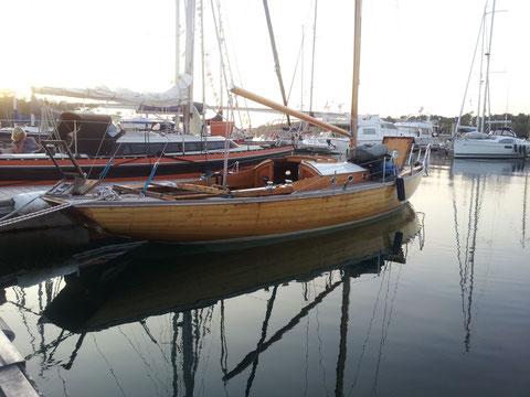 La tranquilité du port de Benodet