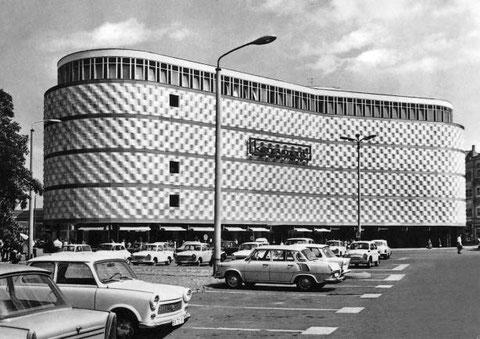 Richard Wagner Platz 1960, Foto: H.-P. Haack
