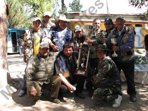 """El Club Aquelarre de Talagante ganó el champion en el Torneo de pesca """"La Amistad"""" 2007"""