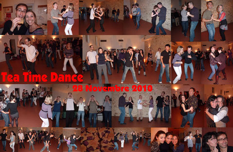 Tea Time Danse - 28 Novembre 2010