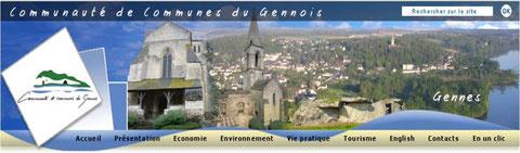 Cliquer sur l'image pour vous rendre sur le site de la Communauté de Communes