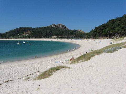 Islas Cíes, paraíso natural en la ría de Vigo