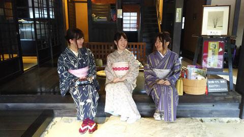 女子旅は下呂温泉で!卒業旅行にはグループで着物体験の思い出づくり