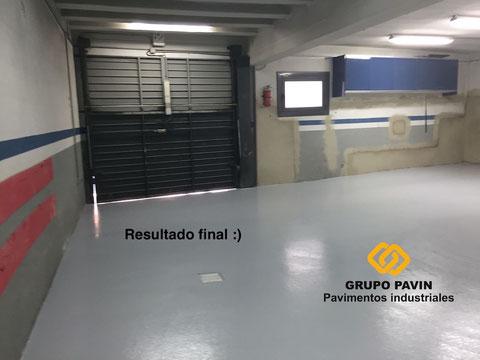 Suelos específicos para garajes en Barcelona