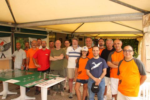 I 16 giocatori partecipanti alla campagna.