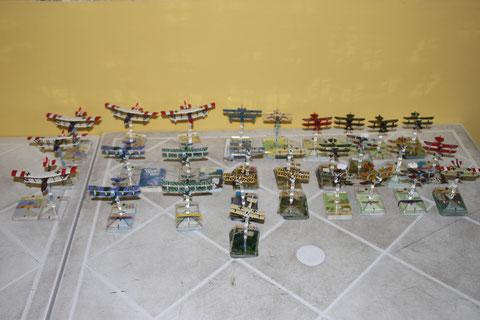 Gli aerei Austro-Ungarici.