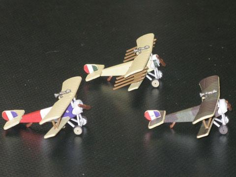 Le prove di stampa del Nieuport Bebè.