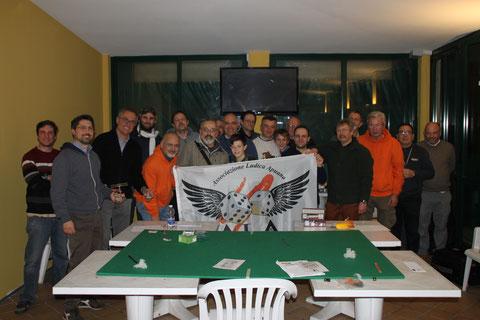I giocatori partecipanti alla campagna.
