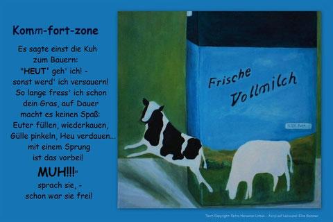 Bild: Acryl auf Leinwand Elke Sommer www.creative-art-sommer.de/