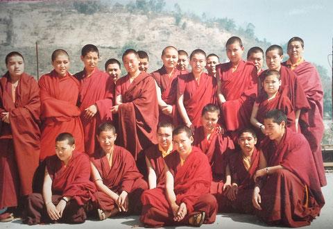Offerte par le groupe des Moniales d'Amitabha