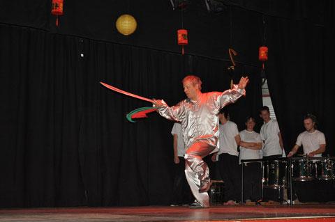 Démo d'arts martiaux