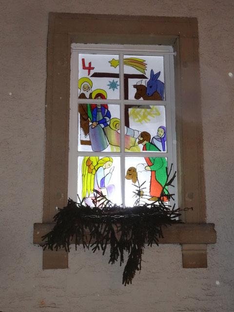 4. Adventsfenster geöffnet