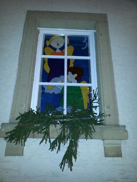 3. Adventsfenster geöffnet