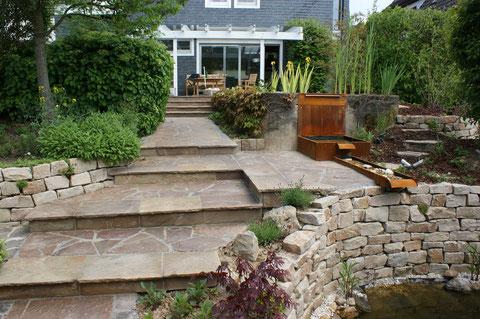 Treppen, Gartengestaltung Gelbrich - Wuppertal
