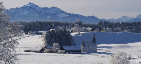 Schusterhof im Winter