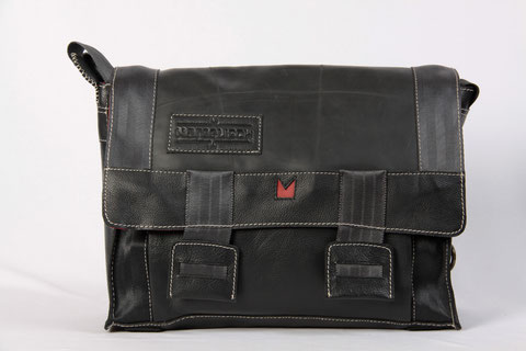 upcycling Laptop Messenger Margelisch