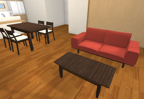 3D インテリア コーディネート 東京デザインセンター 栃木県家具 鹿沼市 東京インテリア ショールーム