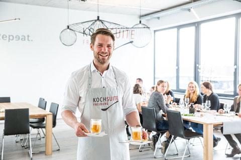 KochSuite Freiburg Tagung mit Mittags-Menü