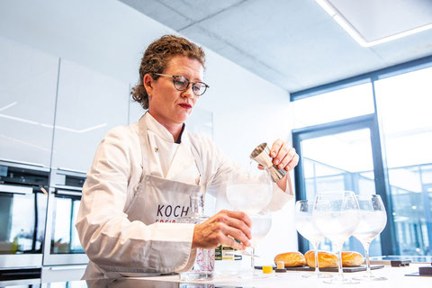 KochSuite Freiburg Gin-Tasting