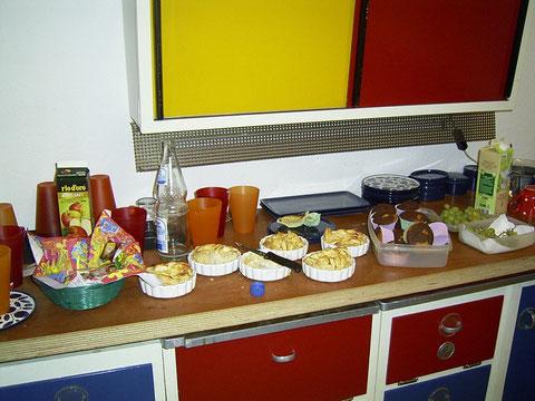 Kuchenbüffet