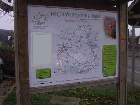 Panneaux PVC  Communauté de Communes des Portes du Maine