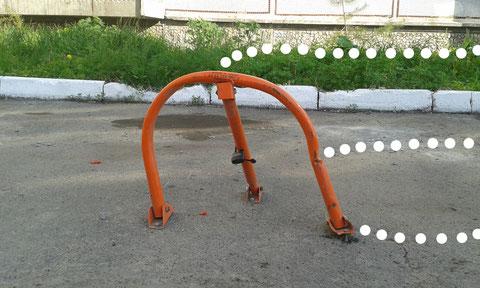 Парковочный барьер стороннего производителя