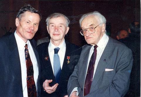 К.А. Победоносцев, А.Ф. Богомолов, В.А. Котельников