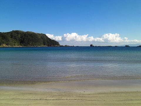 ここの海水100%を使ったミネラル豊富な伊豆下田外浦薪炊き天日干し天然塩を使用しています。