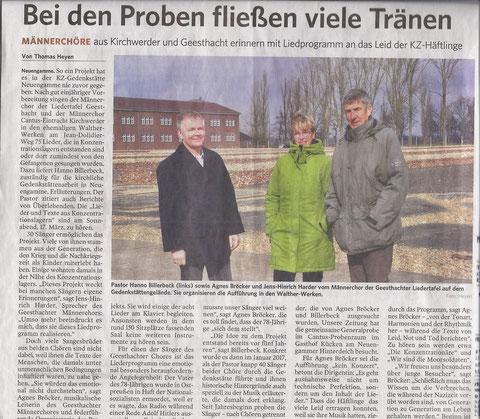 Artikel aus der Lauenburgischen Landeszeitung v. 12.3.2018