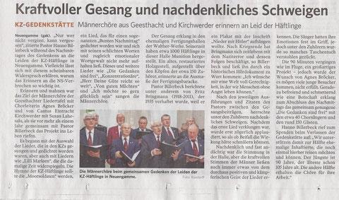 Artiel aus der Landeszeitung vom 19.3.2018