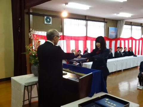 北日本高等専修学校 卒業式