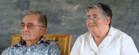 Le Père Michel Guimbaud ... et la Sœur Marie Ange