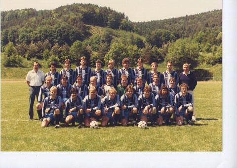 SGS Senioren Saison 1986 - 1987