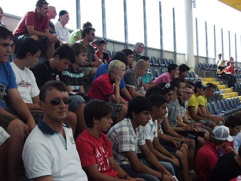 Besuch der C+BJ 15.08.09 SGE - 1. FC Nürnberg  1