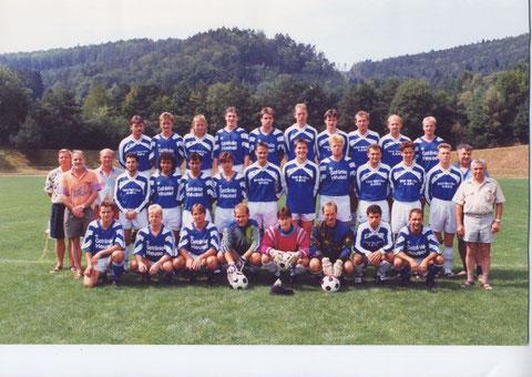 SGS Senioren -  Kader Saison 1993 - 1994