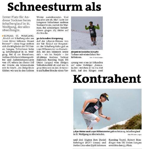 Lungauer Bezikrsblatt Juni 2013