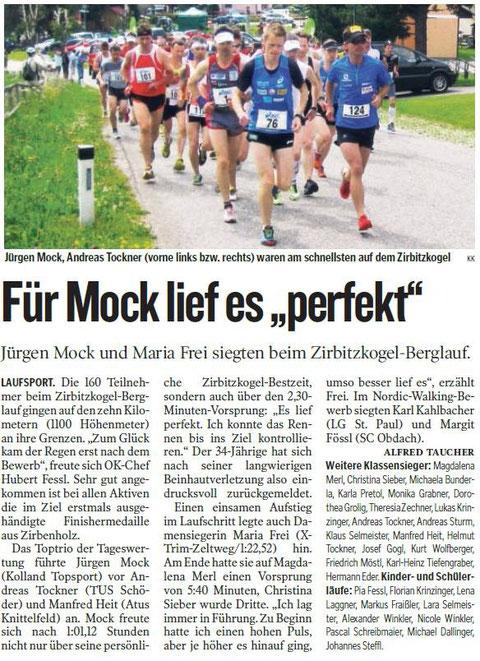 Kleine Zeitung Zirbitzkogel