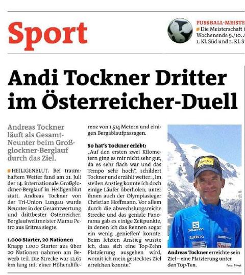 Lungauer Bezirksblatt 31.Juli 2013