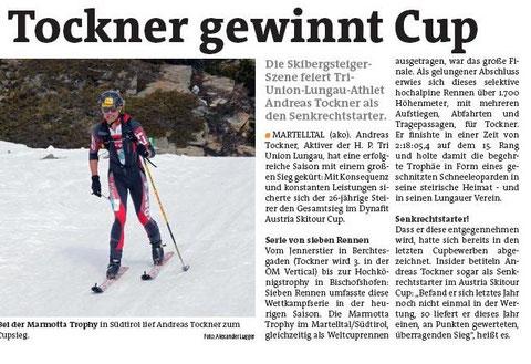 Lungauer Bezirksblatt 4.4.2012