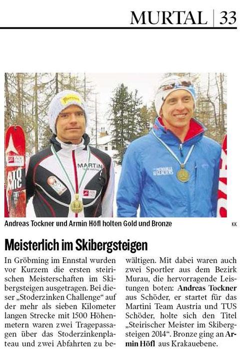 Kleine Zeitung 11.1.2014