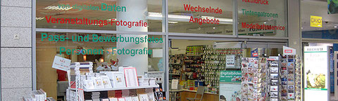 Außenansicht des Geschäfts Foto-Klapproth in Wolfenbüttel