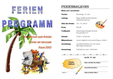 Ferien 2012
