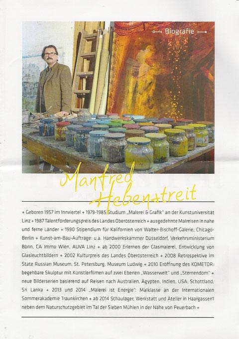 Ausstellung Manfred Hebenstreit
