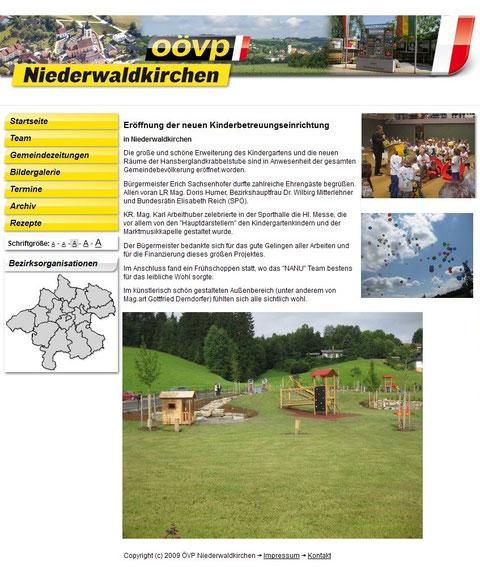Kinderspielplatz 2009