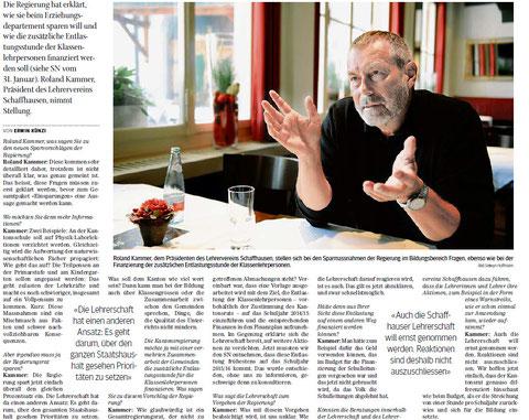 Quelle: Schaffhauser Nachrichten, 12. Februar 2013