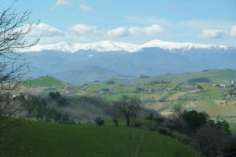 Vakantiehuis huren Casa Panoramica Italie Le Marche Monti Sibillini