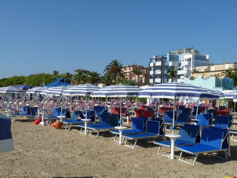 Vakantiehuis huren Casa Panoramica Italie Le Marche strand
